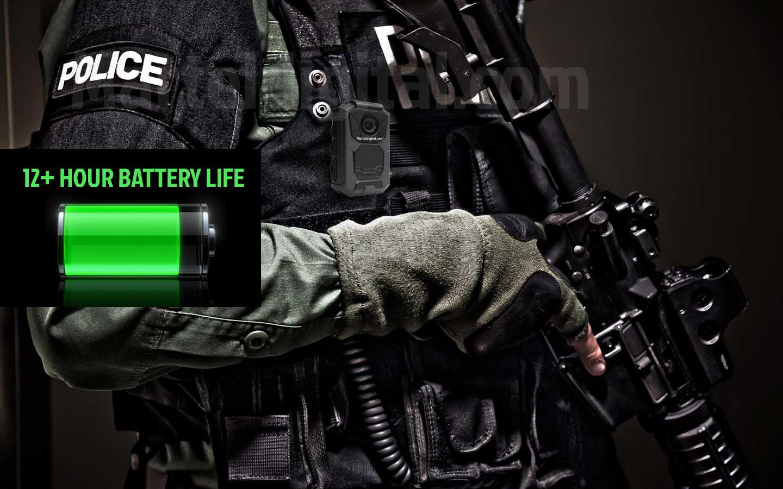 Military grade police body camera